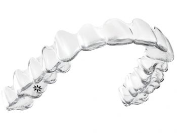 Invisalign Adult Upper on White-Large